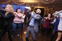 Steven Giallourakis dancing